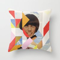 ODD 002 Throw Pillow