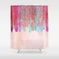 Chaos Over Simplicity Shower Curtain
