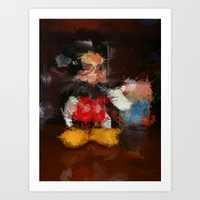 Welcome To The Majick Ki… Art Print