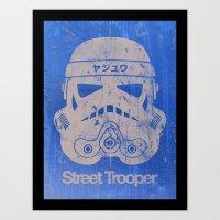 BEAST Street Trooper Hea… Art Print