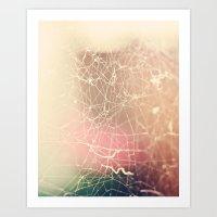 The Tangled Web Art Print
