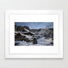 Kyoto Winter 2015 V (Kodaiji)  Framed Art Print
