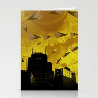 Airplanes And Cigarettes Stationery Cards