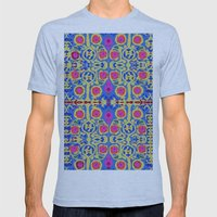Song In My Heart Mens Fitted Tee Athletic Blue SMALL