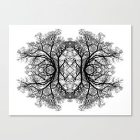 The wonderful world of trees. Canvas Print