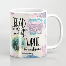 Write to Embrace design Mug