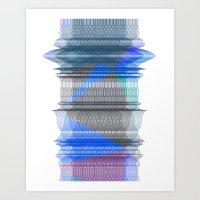 PIPELINE RESONANCE Art Print