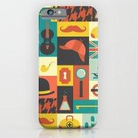 sherlock iPhone & iPod Cases featuring Sherlock by Ariel Wilson