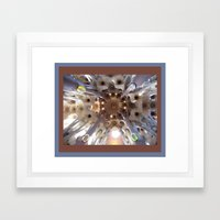 Light And Shadow In Barc… Framed Art Print