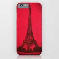 iPhone & iPod Case featuring Eiffel 2  by marianastutz