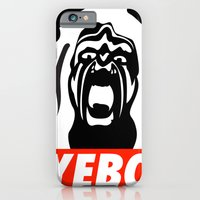 iPhone & iPod Case featuring YEBO WARRIOR by City Light Drive