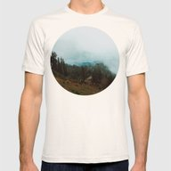 Park Butte Lookout - Was… Mens Fitted Tee Natural SMALL
