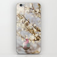teacups in the blossom iPhone & iPod Skin