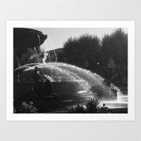 La Fontaine De Jouvence Art Print