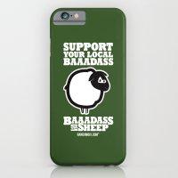 Baaadass the Sheep: Support Your Local Baaadass iPhone 6 Slim Case