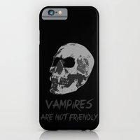 iPhone & iPod Case featuring Vampire by bau5