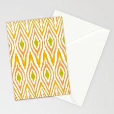 Ikat Tangerine Stationery Cards