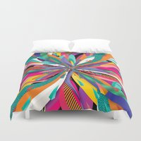Pop Tunnel Duvet Cover