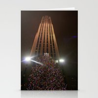 Christmas At Rockefeller Stationery Cards