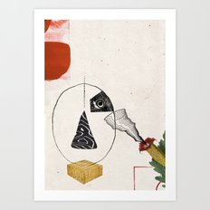 Composition C1 Art Print