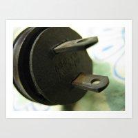 plug 1 Art Print