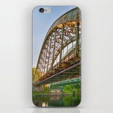 Rusted Sunset Bridge iPhone & iPod Skin