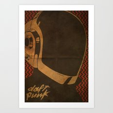 Daft Punk Guy-Manuel I Art Print