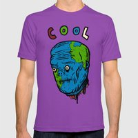 Cool Mens Fitted Tee Ultraviolet SMALL