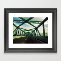 Bridges Do So Many Thing… Framed Art Print