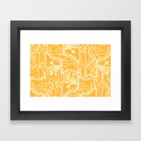Phalanx  Framed Art Print