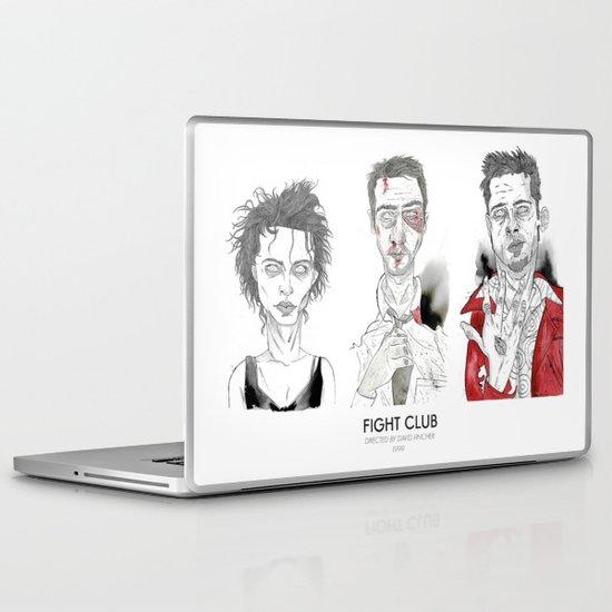 Fight Club - Triptych Laptop & iPad Skin