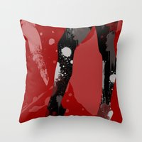 BodyPainted3 Throw Pillow