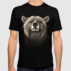 Grizzly Bear Mens Fitted Tee Black SMALL