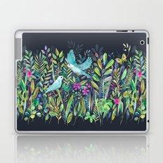 Little Garden Birds in Watercolor Laptop & iPad Skin