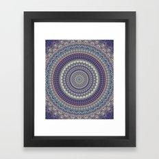 Mandala 496 Framed Art Print