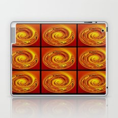 Abstract Collage Orange Art. Laptop & iPad Skin