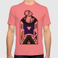 NDEBELE Mens Fitted Tee Pomegranate SMALL