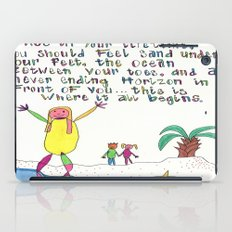 Sand Between Your Toes iPad Case