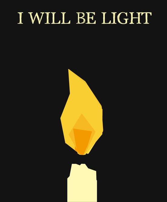 I will be light Art Print