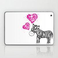 Zebby The Zebra  Laptop & iPad Skin