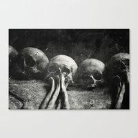 Once Were Warriors IV. Canvas Print