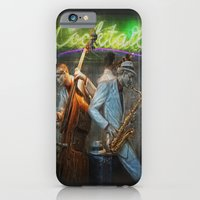 iPhone & iPod Case featuring fifties cocktail jazz by Jo.PinX