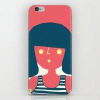 Self-portrait Waiting for Summer iPhone & iPod Skin