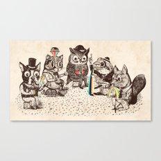 Strange Animals Canvas Print