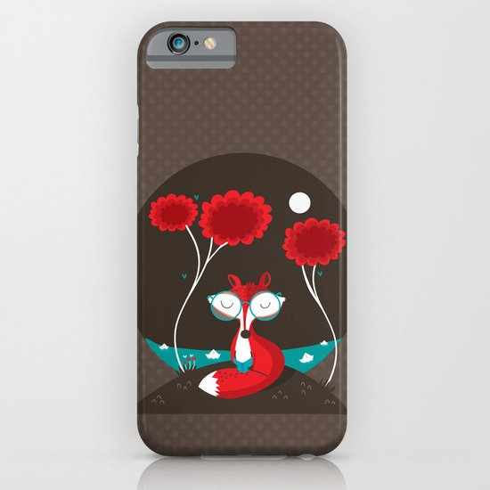 About a red fox iPhone & iPod Case