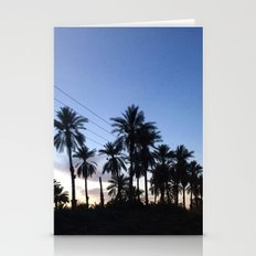 Date Palm Trees Stationery Cards