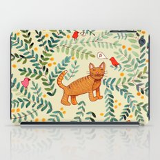 minou jaune (this yellow cat) iPad Case