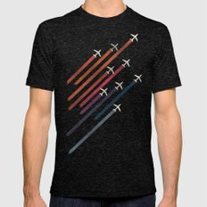 Aerial display (ver.2) Mens Fitted Tee Tri-Black SMALL