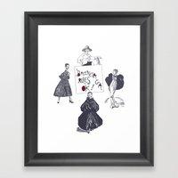Balenciaga Rules OK! Framed Art Print