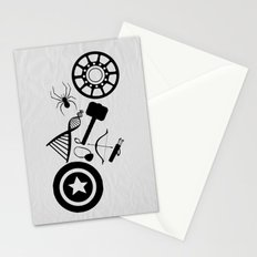 The Avengers Extended Stationery Cards
